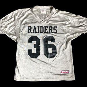 Vintage Raiders Riddell Jersey